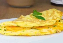 cheese omelettes